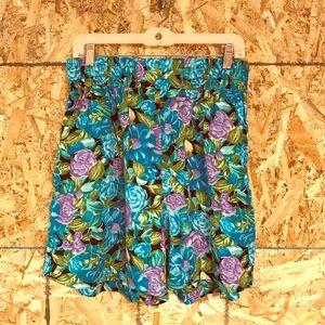 Vintage rayon shorts